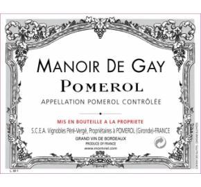 Manoir De Gay label