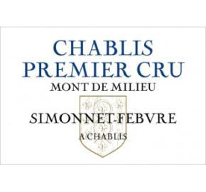 Simmonet Febvre - Chablis 1er Cru -Mont du Milieu
