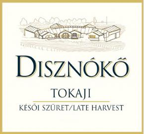 Disznoko - Tokaji - Late Harvest - Sweet label