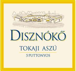 Disznoko - Tokaji Aszu - 5 Puttonyos label