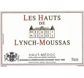 Les Hauts De Lynch-Moussas label