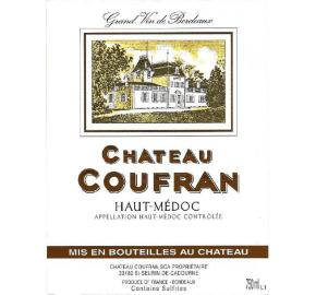 Chateau Coufran label