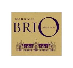 Brio de Cantenac Brown label