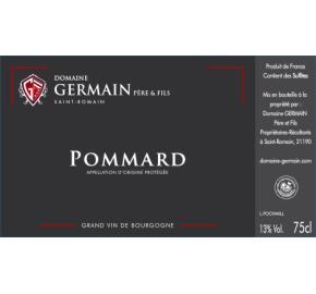 Domaine Germain Pere et Fils - Pommard