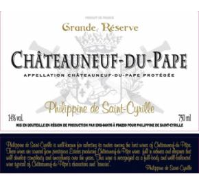 Philippine de Saint-Cyrille - Grand Reserve