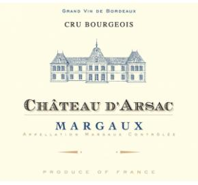 Chateau D'Arsac label
