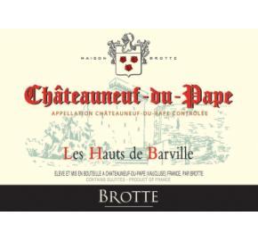 Brotte - Chateauneuf du Pape - Les Hauts de Barville Blanc