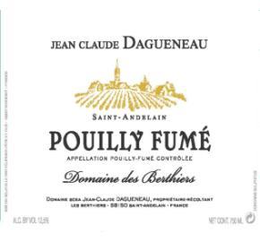 Jean Claude Dagueneau - Saint Andelain - Pouilly Fume