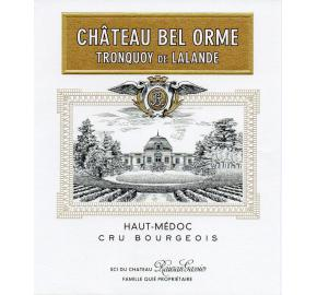 Chateau Bel-Orme Tronquoy de Lalande (from Chateau Rauzan-Gassies) label