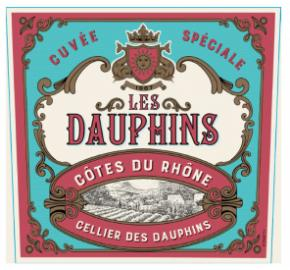 Les Dauphins - Cotes Du Rhone- Red label
