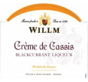 Willm - Creme de Cassis - Blackcurrant Liqueur