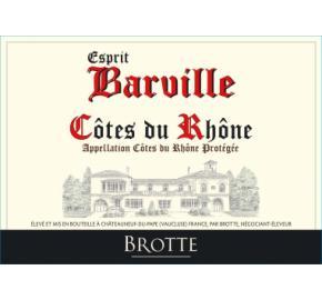 Brotte - Esprit Barville - Cotes du Rhone