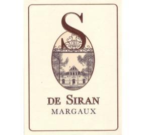 S de Siran label