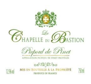 La Chapelle du Bastion - Picpoul de Pinet