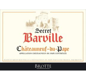 Brotte - Chateauneuf du Pape - Secret Barville