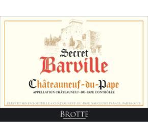 Brotte Chateauneuf du Pape - Secret Barville