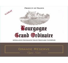 Grand Ordinaire - Grand Reserve Vigne Noir