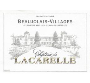 Chateau de Lacarelle - Beaujolais Villages