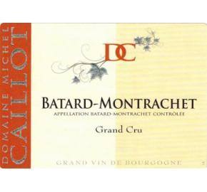 Domaine Caillot - Batard Montrachet