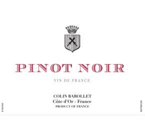 Colin Barollet - Pinot Noir