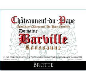 Brotte - Domaine Barville Roussanne
