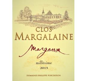 Clos Margalaine label