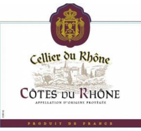 Cellier Du Rhone - Cotes du Rhone label