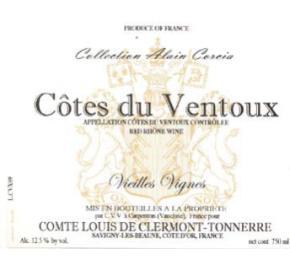 Comte Louis de Clermont-Tonnerre - Cotes du Ventoux