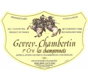 Domaine Philippe Leclerc - Gevrey-Chambertin 1er Cru Les Champonnets