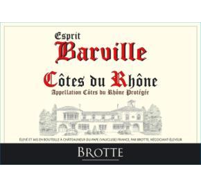 Brotte - Esprit Barville - Blanc