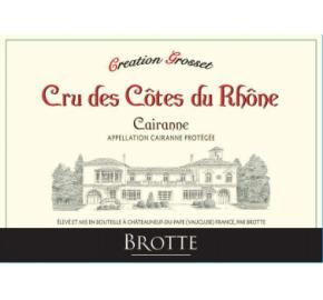 Brotte - Creation Grosset - Cru des Cotes du Rhone