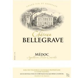 Chateau Bellegrave label