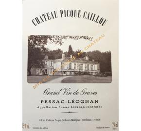 Chateau Picque Caillou - Blanc