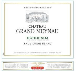Calvet - Chateau Grand Meynau - Sauvignon Blanc