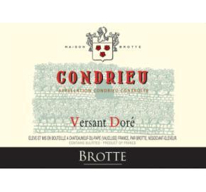 Brotte - Condrieu - Versant Dore label
