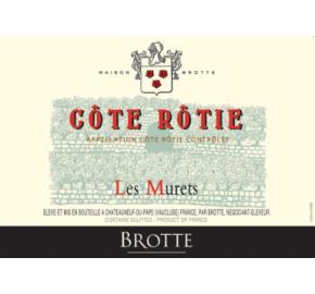 Brotte - Cote Rotie - Les Murets label