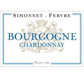 Simonnet Febvre - Bourgogne Blanc Chardonnay label