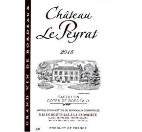 Chateau le Peyrat