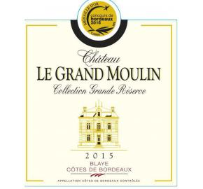 Chateau Le Grand Moulin - Collection Grande Reserve