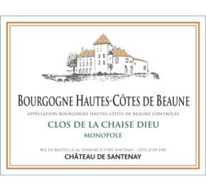 Chateau de Santenay - Clos de la Chaise Dieu Blanc- Monopole