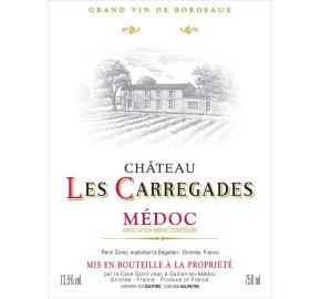 Chateau Les Carregades label