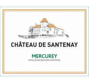 Chateau de Santenay - Mercurey Blanc label