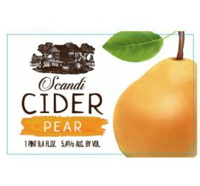 Scandi Pear- Cider