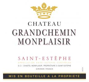 Chateau Grand Chemin Monplaisir label