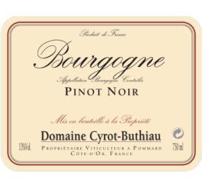 Domaine Cyrot-Buthiau - Pinot Noir