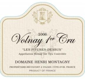 Domaine Henri Montagny Volnay 1er Cru - Les Pitures-Dessus
