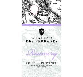 Chateau Des Ferrages - Roumery Rose label