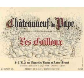 Andre Brunel - Les Cailloux CDP Blanc label