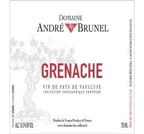 Andre Brunel - VDP Grenache label