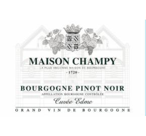 Maison Champy - Pinot Noir - Cuvee Edme label
